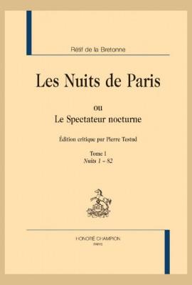 LES NUITS DE PARIS OU LE SPECTATEUR NOCTURE