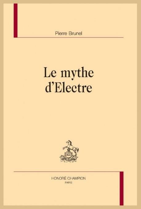 LE MYTHE D'ELECTRE