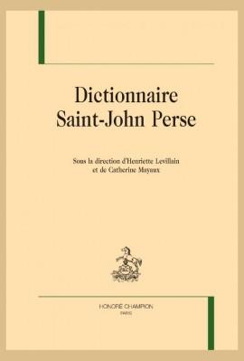 DICTIONNAIRE SAINT-JOHN PERSE