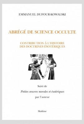 ABRÉGÉ DE SCIENCE OCCULTE