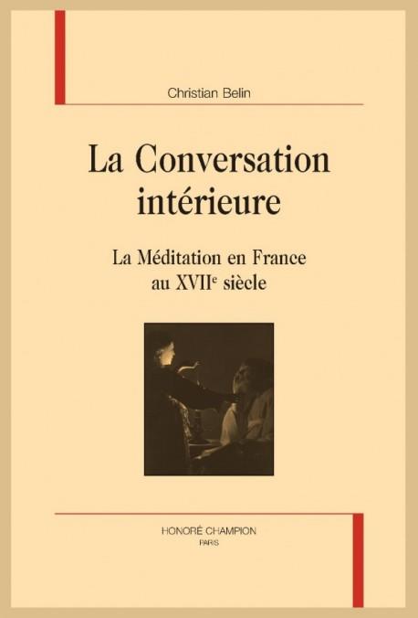 LA CONVERSATION INTÉRIEURE
