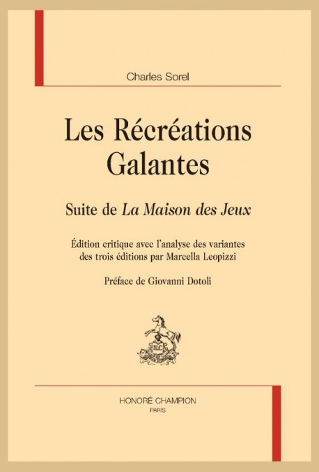 LES RÉCRÉATIONS GALANTES