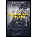 TABLE POUR TROIS A NEW YORK