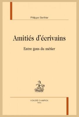 AMITIÉS D'ÉCRIVAINS