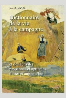 DICTIONNAIRE DE LA VIE À LA CAMPAGNE