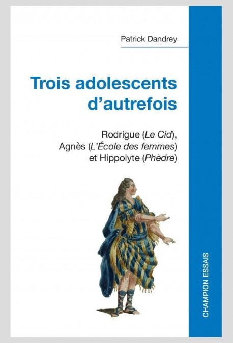 TROIS ADOLESCENTS D'AUTREFOIS